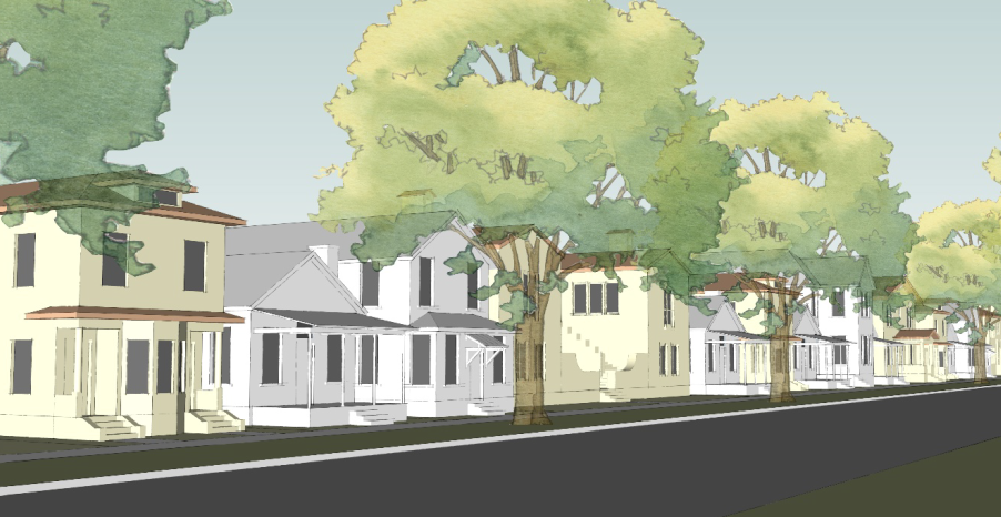 Housing typologies should match the historical character of the neighborhood.